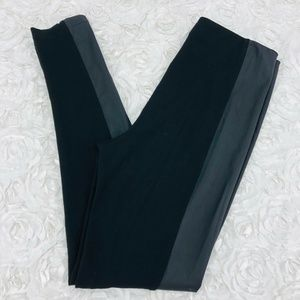 Angel Faux Leather Panel Legging Pant
